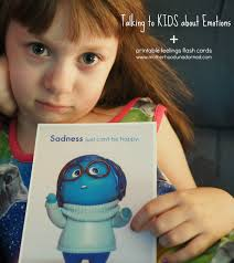 Inside Out Feelings Chart Printable Talking To Kids About Emotions Inside Out Printable