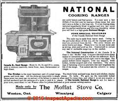 moffat electric range repair history components parts moffat stove 1909 w asbestos c inspectapedia