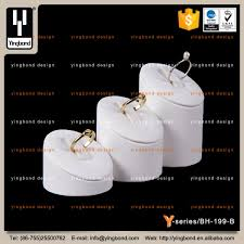 imports cute white resin jewellery display sets countertop ring holder