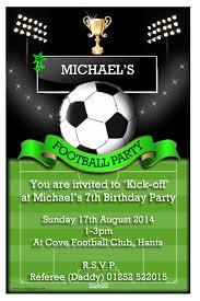 Football Invitation Template Football Party Invitations For Your Party Invitation Template With