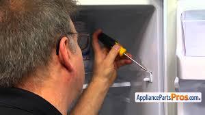Refrigerator Door Light Switch Replacement Refrigerator Door Switch Part Da34 00041a How To Replace