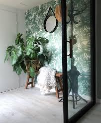 Behang Planten En Kleur Dan Denk Je Aan Het Interieur Van Joyce