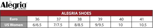 Alegria Size Chart Alegria Deb 601 Black Leather Debra Shoe Alegria Shoes