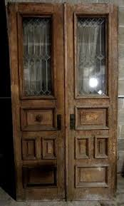 antique double entrance french doors