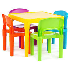 plastic table tot tutors and 4 chairs set tables for philippines