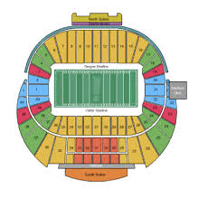 Oregon Ducks Seating Chart Best Picture Of Chart Anyimage Org