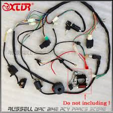 full electrics wiring harness cdi ignition coil rectifier switch 110cc atv wiring harness at 110cc Chinese Atv Wiring Harness
