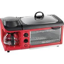 Retro Toasters nostalgia retro series 3in1 family size breakfast station red 4771 by uwakikaiketsu.us