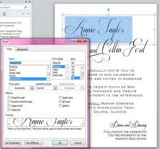 How To Create Invitations On Word 4 Steps To Elegant Diy Calligraphy Wedding Invitations Fun