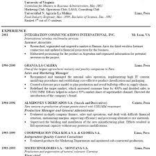 Examples Of Good Resumes That Get Jobs Financial Samurai Resume