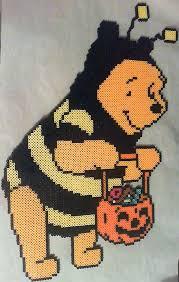 Halloween Perler Bead Patterns Cool Halloween Pooh Bear Perler Beads By Phantasm48 On DeviantArt