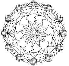 Free Printable Mandala Coloring Pages For Adults Pdf Mandalas Horse