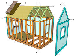 simple small kids playhouse plans for diy builds