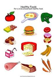 Healthy Vs Unhealthy Food Chart Healthy Foods Worksheet Healthy Unhealthy Food Healthy