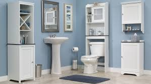 Toilet Furniture Sets Over The Toilet Floor Cabinet Over the