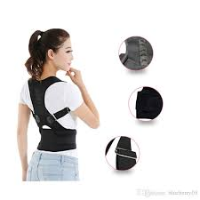 Magnetic Therapy Posture Corrector Brace Shoulder Back Support Belt For Men Women Braces \u0026 Supports Free Shopping