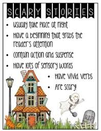 halloween writing center write a scary story tpt halloween writing center write a scary story