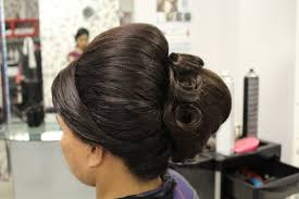Indian Hair Style how to indian bridal hairstyles for short hair youtube 7843 by wearticles.com