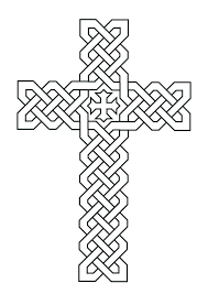 Catholic Cross Coloring Pages At Free Printable Coloring Pages