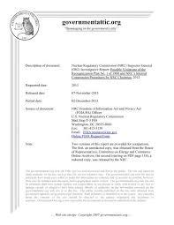 Nrc Inspector General Oig Governmentattic Org
