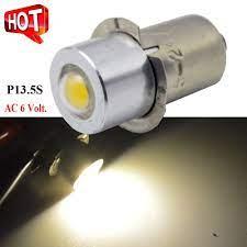 4x P13.5S 1 W LED Lamba Ampulü Feneri Yedek Ampul Torch AC4.5V 6 V 12 V  Acil Durum ışığı Ile Çalışma Işığı COB çip Kategoride Sinyal Lambası.  Originalsales.co
