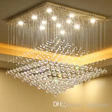 chandelier led lights modern simple creative personality rectangle shape crystal chandeliers ceiling lighting fixture chandeliers lamps kids chandelier