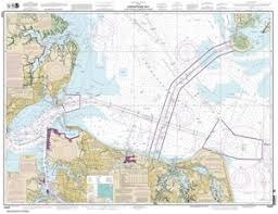 Mobjack Bay Chart 12222 Chesapeake Bay Cape Charles To Norfolk Harbor Nautical Chart