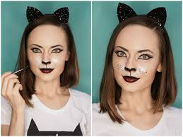 easy cat makeup tutorial tutorials video for over foundation you 2017makeup videos creepy