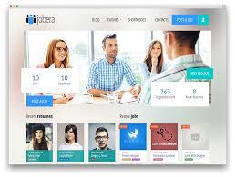 best job board themes and plugins for wordpress  colorlib jobera clean job board wordpress theme