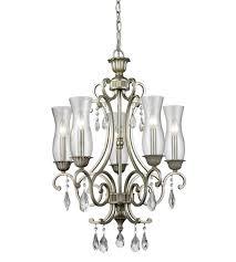 z lite 720 5 as melina 5 light 22 inch antique silver chandelier