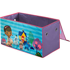 Toy storage trunk Crate Style Disney Doc Mcstuffins Oversized Soft Collapsible Storage Toy Trunk Walmartcom Walmart Disney Doc Mcstuffins Oversized Soft Collapsible Storage Toy Trunk
