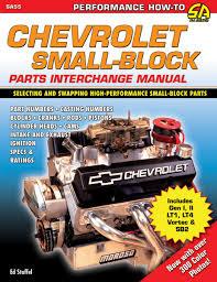 Chevrolet Small Block Parts Interchange Manual