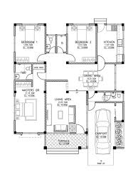 various three bedroom home plans three bedroom house plans with garage 3 bedroom 3