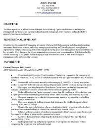 Sample General Resume Examples Resume Professional Resume Cover
