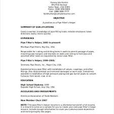 Pipefitter Resume Sample Delectable 48pipefitter Resume Samples Proposal Agenda