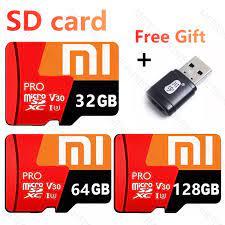 ♥【Readystock】 + Miễn Phí + COD♥[Đầu Đọc Thẻ Quà Tặng Miễn Phí】thẻ Nhớ Xiaomi  Tốc Độ Cao Thẻ Nhớ 3.0 Micro, Thẻ Flash 64GB