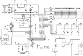 digital temperature controller schematic diagram