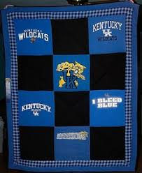 University of Kentucky T-Shirt Quilt by LabradorCrafts on Etsy ... & University of Kentucky Wildcats Large by RebeccasCozyQuilts Great Christmas  gift idea Adamdwight.com