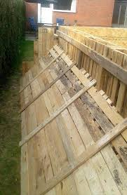 Decking Using Pallets Build A Swimming Pool Out Of 40 Pallets