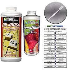 Amazon Com General Hydroponic Calimagic Florablend Vegan