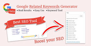 The suggestions that google offers all come from how people actually search. Google Related Keywords Generator V1 1 0 Wordpress Seo Keyword Planner Tool