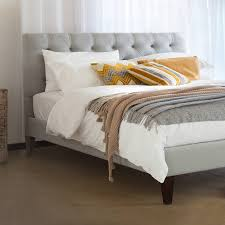the caesar upholstered bed frame by get laid beds