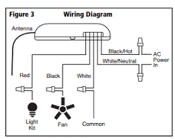 wiring ceiling fan remote wiring diagram sample