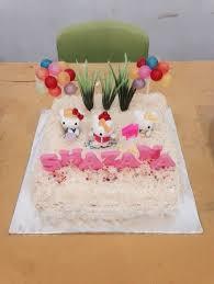 Dapur Kue Oma Hello Kitty Birthday Cakes And Cupcakes