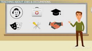 Jobs Occupations Vocabulary For Esl List Exercises