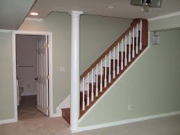 Marvelous Painted Basement Stairs Ideas Pics Ideas Amys Office - Painted basement stairs