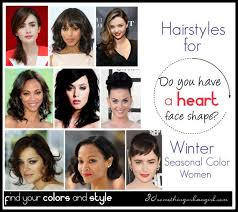 How To Find Your Hairstyle do you have a heart face shape 30 something urban girl 7094 by stevesalt.us