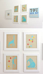 diy boy nursery wall art