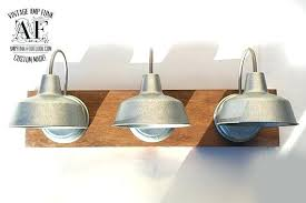 industrial bathroom lighting. Diy Industrial Vanity Light Awesome Beautiful Bathroom Lighting Intended For .