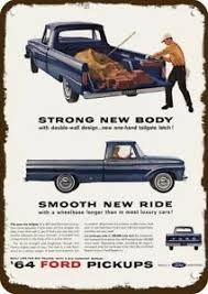 1964 FORD F100 STYLESIDE CUSTOM CAB PICKUP TRUCK Vintage Look ...